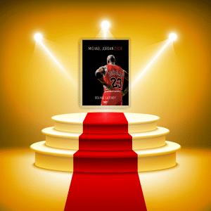 Michael Jordan - podium