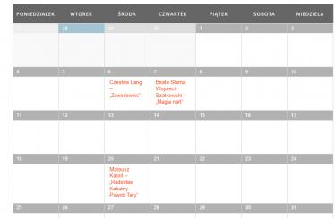 Kalendarz premier
