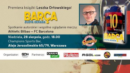 Spotkanie autorskie z Leszkiem Orłowskim