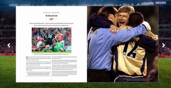 Kolekcjonerski album dla fanów Arsenalu