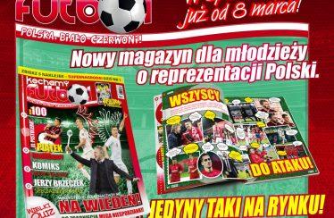 Kochamy Futbol. Polska, Biało-Czerwoni! wkrótce zadebiutuje narynku
