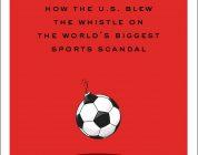 Czerwona kartka dla piłki nożnej